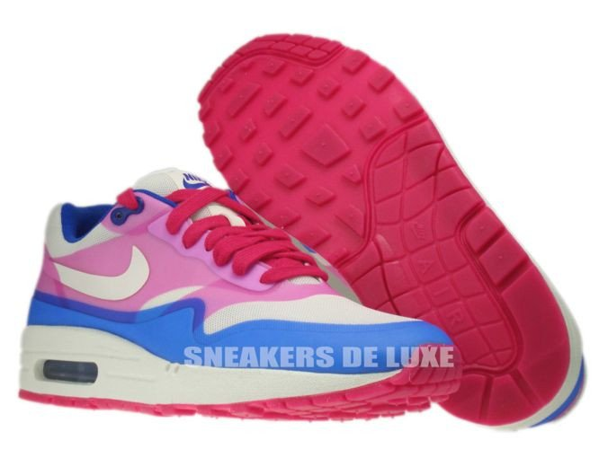 579758 100 Nike Air Max 1 Premium Hyperfuse Sail Pink Force