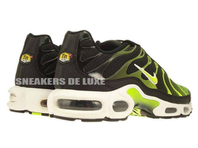 647315-071 Nike Air Max Plus TN 1 Black-White Volt Green 647315-071 ... 6acc62daf
