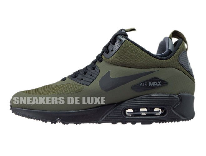 huge discount 8f42a 6a6a9 ... 806808-300 Nike Air Max 90 Mid Winter Dark Loden Black-Dark Grey ...