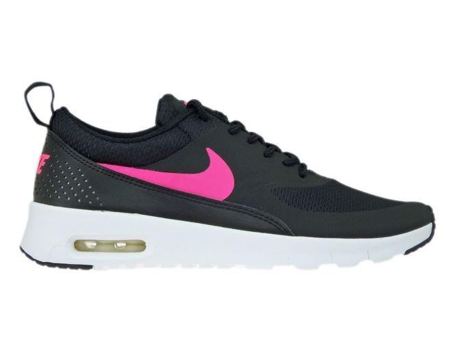 online store 19e49 ec704 814444-001 Nike Air Max Thea Black  Hyper Pink-White ...