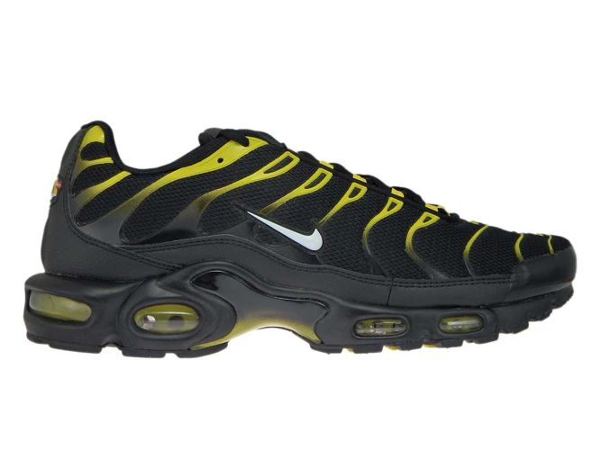 wholesale dealer a22b6 665f9 852630-020 Nike Air Max Plus TN 1 Black White-Vivid Sulfur ...