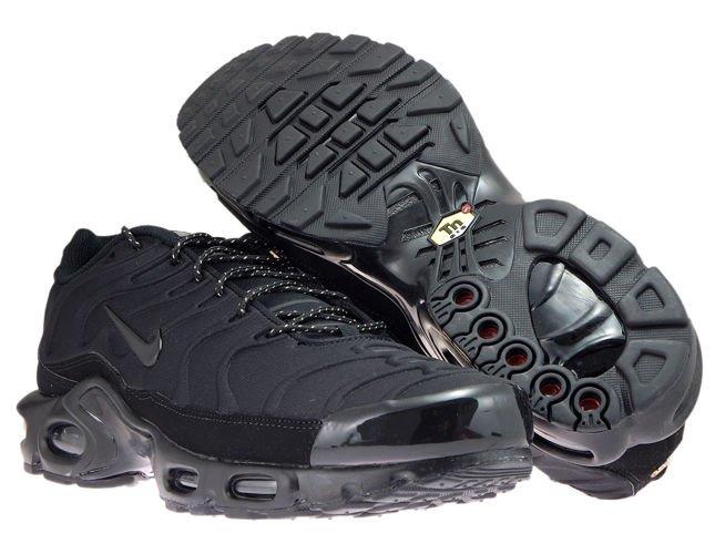 online retailer 611b7 6ed2a 918240-002 Nike Air Max Plus TN SE Black/Black-Black 918240-002 Nike ...