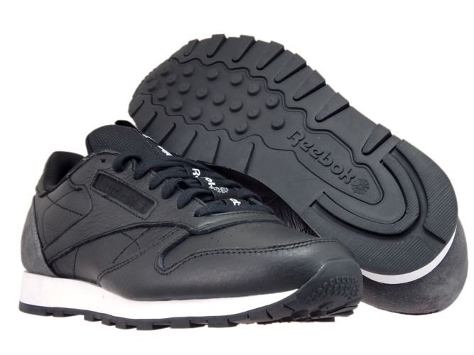 BS6210 Reebok Classic Leather Iconing Taping BlackCoal