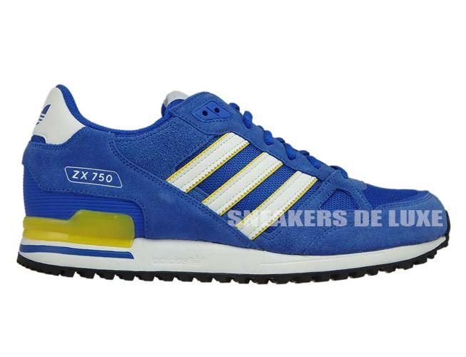 8d010975ecc5d BY9272 adidas ZX 750 Blue Ftwwht Eqtyel BY9272 adidas Originals   mens