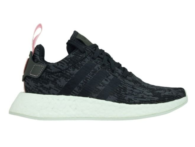 1dca258bb BY9314 adidas NMD R2 W Core Black Core Black Wonder Pink BY9314 ...