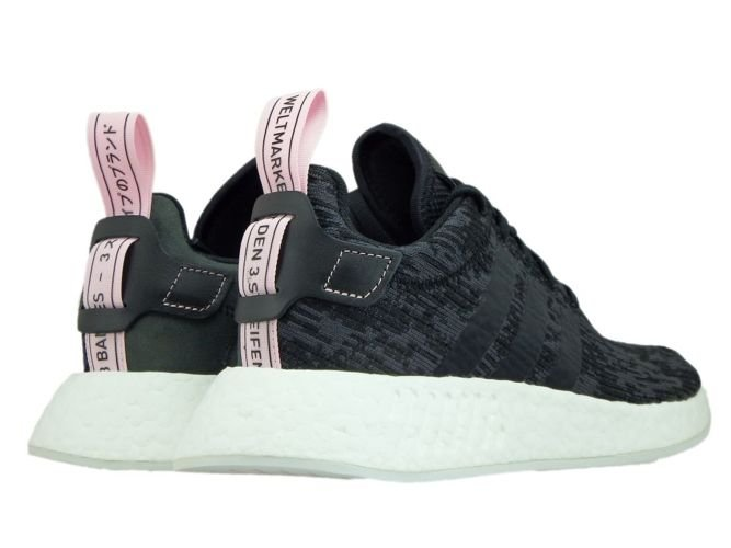 a76853c21 BY9314 adidas NMD R2 W Core Black Core Black Wonder Pink BY9314 ...