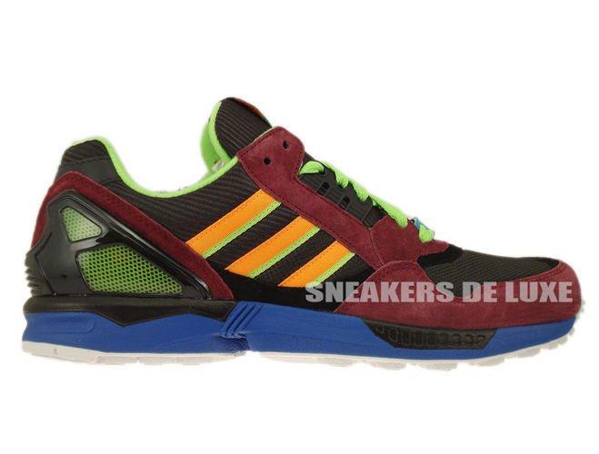 3e8a243563999f D65499 Adidas ZX 9000 Torsion Dark Brown Macaw Zest D65499 adidas ...