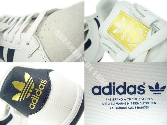 G64079 adidas Grand Prix White New Navy Metallic Gold