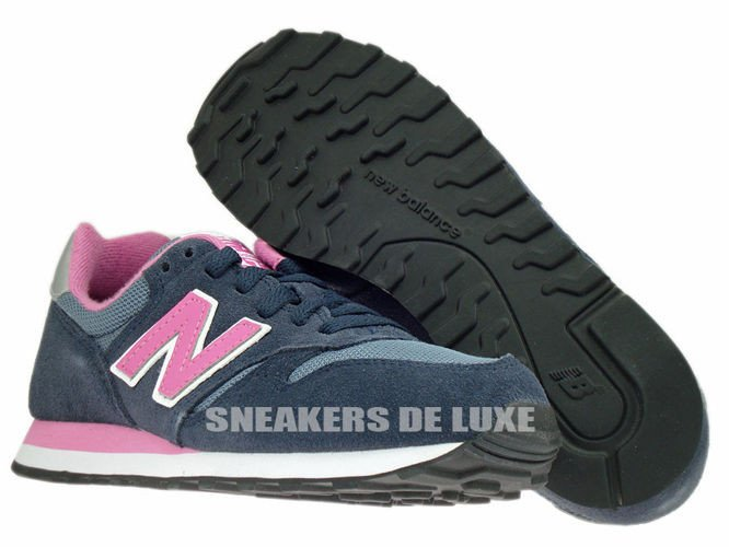 New Balance W373SNP 373 Navy / Pink Suede W373SNP New Balance ...