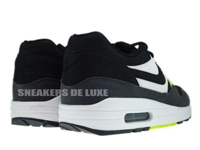 Nike Air Max 1 Black Anthracite Volt White 308866-022 Nike   mens  bafdda0a99