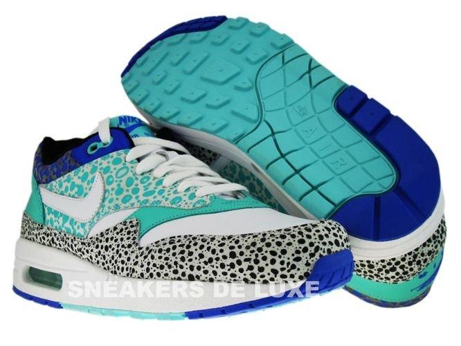 size 40 fea3d 32b1a ... Nike Air Max 1 Nike Air Max 1 Premium Safari Print WhiteWhite-Medium  ...