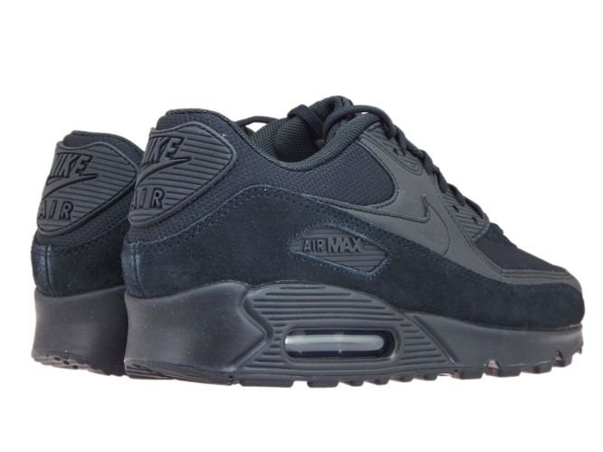 detailed look 1647a 4830a ... Nike Air Max 90 325213-043 Black Black-Black