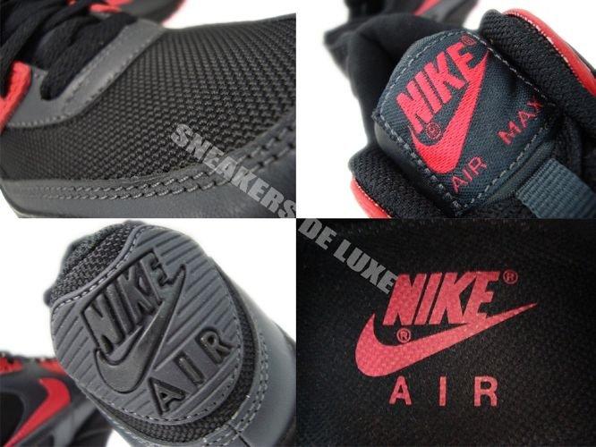 the best attitude 8cfae 2385f ... Nike Air Max 90 Black Siren Red-Anthracite 325213-020