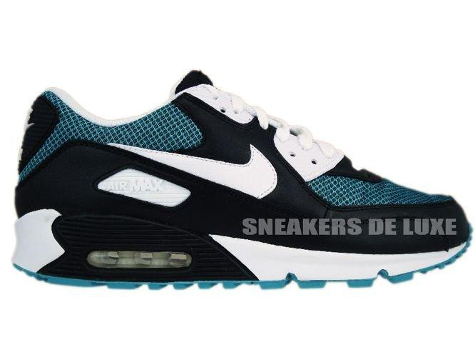 separation shoes f6d32 341fa Nike Air Max 90 Black/White/Turbo Green 325018-020 325018-020 Nike ...