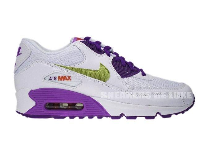 timeless design 859fc ed5be Nike Air Max 90 White Metallic Gold Crt Purple 345017-112 ...