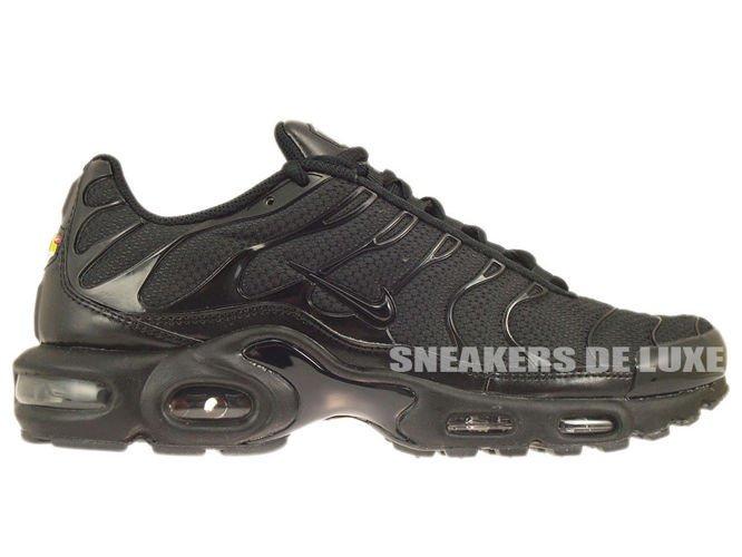 super popular c2267 37cf2 Nike Air Max Plus TN 1 Black Black-Black ...