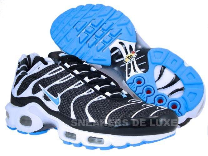 f87d5535 Nike Air Max Plus TN 1 Black/Vivid Blue-White 604133-944 ...