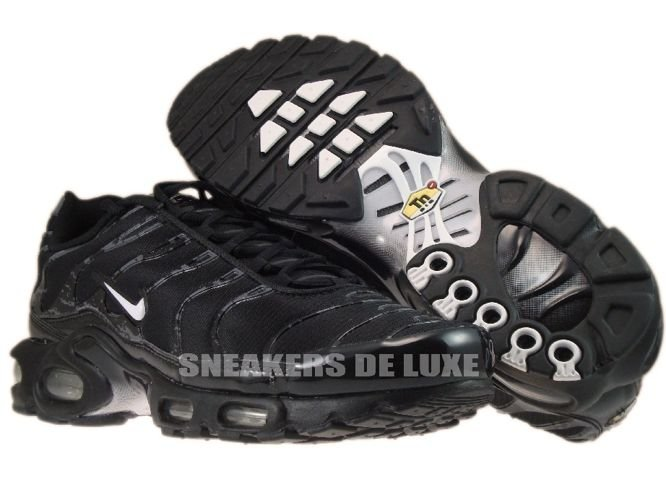 info for d9ebb fb9de ... Nike Air Max Plus TN 1 Black White-Black ...