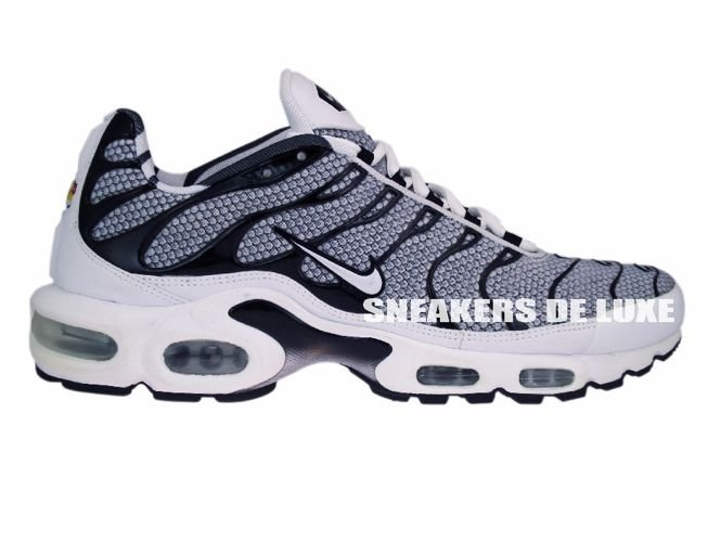 hot sale online 21e56 11c41 Nike Air Max Plus TN 1 Grey Black White ...