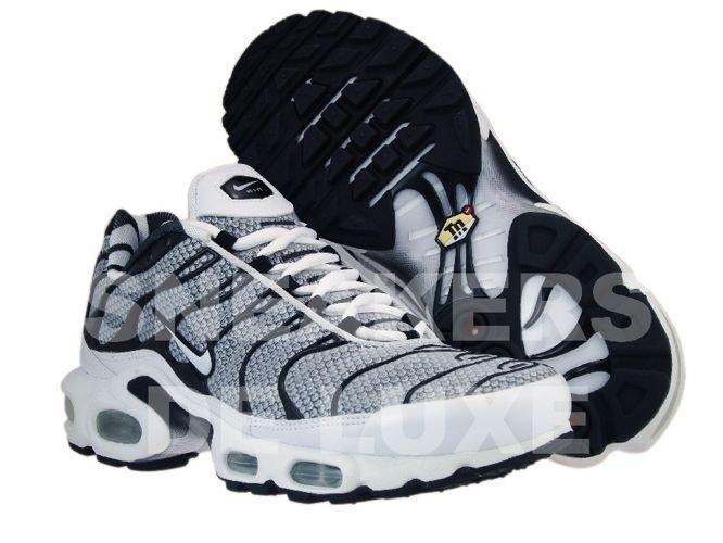 ... Nike Air Max Plus TN 1 Grey/Black White ...