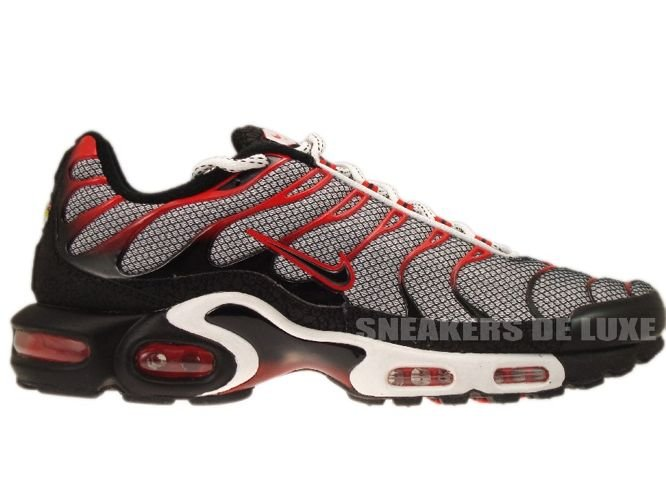 Nike Air Max Plus TN 1 WhiteBlack Challenge Red 604133 118