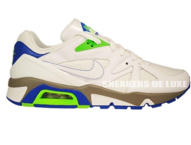 f29e011f24be Nike Air Structure 91 Triax White Electric Green Blue Sapphire 318088-111  ...