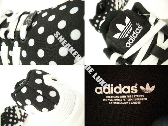 d84def2e84117 S77312 adidas ZX Flux Polka Dots S77312 adidas Originals   womens