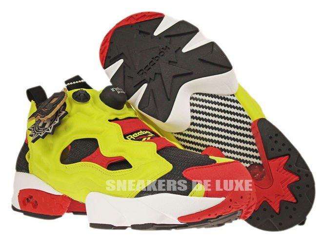 Reebok Instapump Fury OG Black Green Red White | Footshop