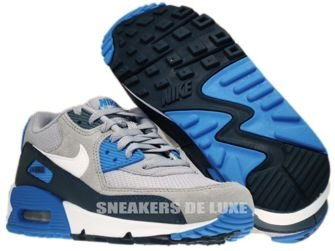 307793-083 Nike Air Max 90 Wolf Grey/White/-Armory Navy-Armory 307793-083