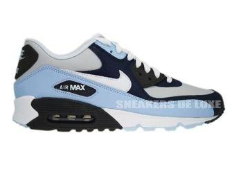 325018-409 Nike Air Max 90 Obsidian/White-Obsidian Midnight Fog