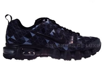 336155-001 Nike Tuned X 10 Nightfade Black/Black-Flint Grey