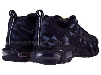 336155-001 Nike Tuned X 10 Nightfade Black/Black-Flint Grey