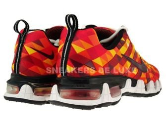 336155-761 Nike Tuned X 10 Sunset/Deep Burgundy-Black