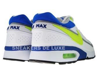 358797-106 Nike Air BW Classic White/Hot Lime-Team Royal-Wolf Grey