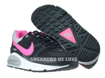 407626-065 Nike Air Max Command Black/Pink Pow-Wolf Grey-White