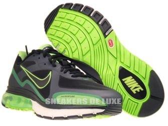 454347-030 Nike Air Max Alpha 2011+ Black/Anthracite-Neutral Grey-Gorge Green