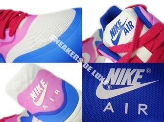 579758-100 Nike Air Max 1 Premium Hyperfuse Sail-Pink Force-Hyper Blue