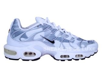 604133-106 Nike Air Max Plus TN 1 White/Grey-Black