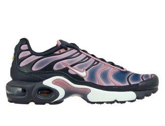718071-006 Nike Air Max Plus TN 1 Gridiron/White-Elemental Pink