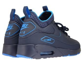 AA4423-400 Nike Air Max 90 Mid Winter Obsidian-Obsidian-Thunder Blue