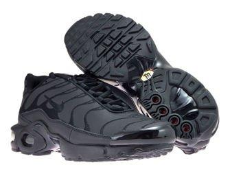 AO5432-001 Nike Air Max Plus TN 1 Black/Black-Black
