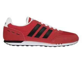 AW3876 adidas NEO City Racer Scarlet/Core Black/Ftwr White