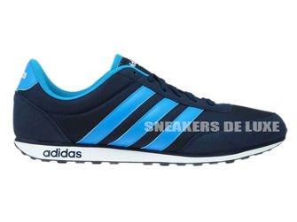 AW5053 adidas neo V Racer Collegiate Navy/Solar Blue /Footwear White