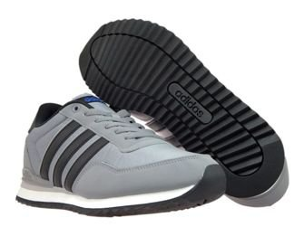 BB9681 adidas NEO Jogger CL Grey Three/Core Black/Blue