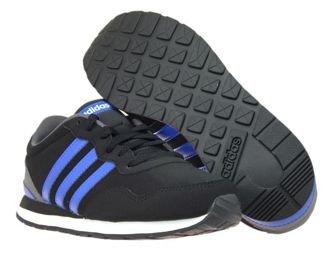 BC0081 adidas V JOG K Core Black/Blue/Ftwr White