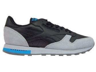 BD4414 Reebok Classic Leather GN Black/Cloud Grey/Alloy/Caribbean Teal