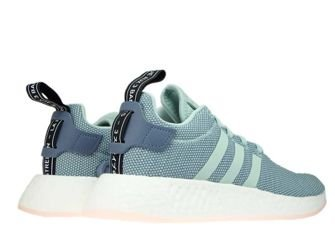 CQ2010 adidas NMD R2 W Raw Steel/Ash Green/Ftwr White