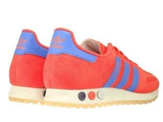 CQ2275 adidas LA Trainer Hi-Res Red/Hi-Res Blue/Talc