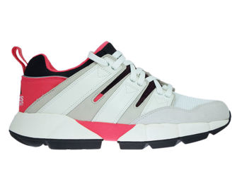 DB2717 adidas EQT Cushion 2.0 Shock Red/Off White/Lear Brown
