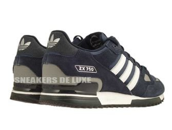 G40159 adidas ZX 750 New Navy/White/Dark Navy